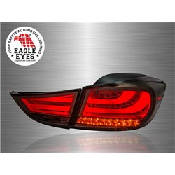 HYUNDAI ELANTRA 2011 - 2017 EAGLE EYES F-Style Red Smoke Lens LED Light Bar Tail Lamp [TL-193-4]
