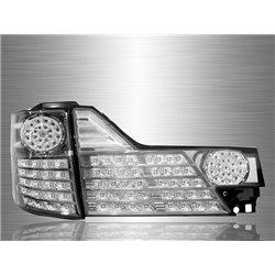 TOYOTA ALPHARD ANH10 Facelift 2005 - 2007 Smoke Lens LED Tail Lamp [TL-129-1]