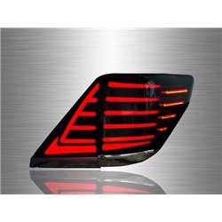 TOYOTA ALPHARD/ VELLFIRE ANH20 2008 - 2014 Valenti Jewel Smoke Lens LED Light Bar Tail Lamp with Sequential Signal Light [TL-291