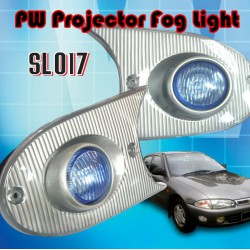 PROTON WIRA/ SATRIA/ PUTRA Projector Diamond Blue Fog Light/ Lamp Per Pair [SL-017B]