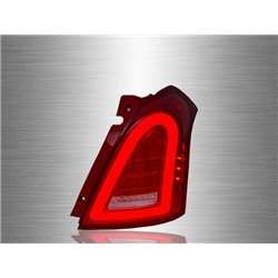 SUZUKI SWIFT 2004 - 2012 Mini-Style Red Clear Lens LED Light Bar Tail Lamp [TL-282]