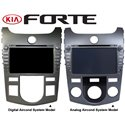 "KIA FORTE 2008 - 2012 DLAA 7"" Full HD Double Din GPS DVD VCD MP3 USB SD Bluetooth TV Player (Digital or Analog Aircond System)"