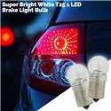 Super Bright White T25 1 LED Brake Light Bulb (Pair)