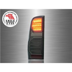 TOYOTA HILUX VIGO 2004 - 2014 EAGLE EYES Full Smoke Lens LED Tail Lamp [TL-195-1]