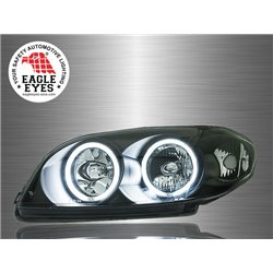 TOYOTA VIOS 2002 - 2005 EAGLE EYES CCFL LED Light Ring Daytime Running Light Crystal Head Lamp [HL-058]