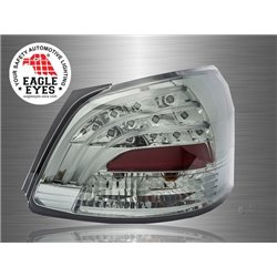 TOYOTA VIOS 2007 - 2012 EAGLE EYES Full Smoke GCI LED Light Bar Tail Lamp [TL-123-2]