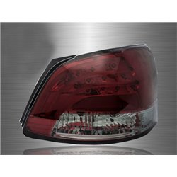 TOYOTA VIOS 2007 - 2012 EAGLE EYES Red Smoke GCI LED Light Bar Tail Lamp [TL-123-3]
