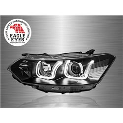 TOYOTA VIOS 2013 - 2017 EAGLE EYES U-Concept LED Light Bar Daytime Running Light Projector Head Lamp [HL-164]