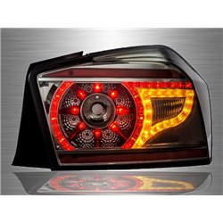 HONDA CITY GM3 Facelift 2012 - 2013 Full Smoke Lens LED Tail Lamp (Range Rover Evoque Style) [TL-218]