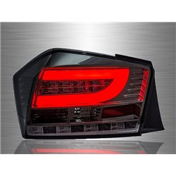 HONDA CITY GM3 Facelift 2012 - 2013 Full Smoke Lens LED Light Bar Tail Lamp [TL-239]