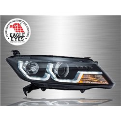 HONDA CITY GM6 2014 - 2016 EAGLE EYES LED Light Plank Daytime Running Light Projector Head Lamp [HL-176]