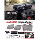 HONDA ACCORD Facelift 2016 - 2018 NINJA SHADES UV Proof Custom Fit Car Door Window Magnetic Sun Shades (3pcs)