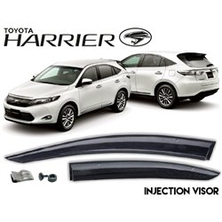 TOYOTA HARRIER XU60 2013 - 2018 Premium Injection Rain Guard Acrylic Door Window Ventilate Visor with Clip