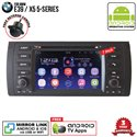 "BMW E39 / X5 5-Series SKY NAVI 7"" FULL ANDROID Double Din GPS DVD CD USB SD BLUETOOTH IOS Mirror Link Player"