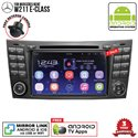 "MERCEDES BENZ W211 E-CLASS SKY NAVI 7"" FULL ANDROID Double Din GPS DVD CD USB SD BLUETOOTH IOS Mirror Link Player"