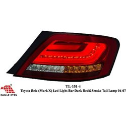 TOYOTA MARK X (REIZ) X120 2004 - 2009 EAGLE EYES F-Style LED Light Bar Tail Lamp with Sequential Signal Light