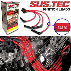 (MOST PROTON) SUSTEC Ignition Leads Silicone Spark Plug Cable (8mm Thick) Made in USA