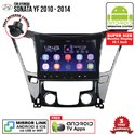 "HYUNDAI SONATA YF 2010 - 2014 SKY NAVI 10.1"" FULL ANDROID Double Din GPS USB SD BLUETOOTH IOS Mirror Link Player"