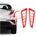 TOYOTA CHR C-HR 2016 - 2018 Rear Bumper Reflector LED Warning Brake Light
