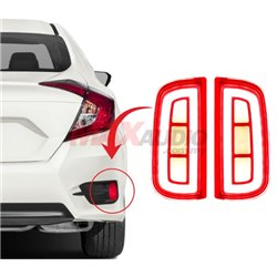 HONDA CIVIC FC 2016 - 2018 Rear Bumper Reflector LED Warning Brake Light