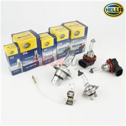 HELLA OEM Standard Series 4300K Yellowish Warm White Car Vehicle Halogen Bulb Lamp Light (Pair)