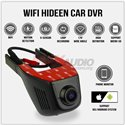 IFOUND Full HD 1080P 170 Degree View Car Vehicle Hidden Wifi Dash Camera Driving Video Recorder DVR (V-VOX)