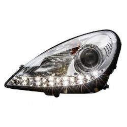 MERCEDES BENZ R171 SLK 2004 - 2011: EAGLE EYES Projecter Daylight DLR Head Lamp [HL-036-BENZ]