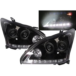 TOYOTA HARRIER XU30 2003 - 2012 SONAR LEXUS Style LED Daytime Running Light Double Projector Head Lamp [HL-184]