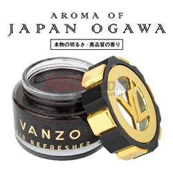 FREE GIFT - VANZO Japan Premium Black Gold Series Gel Type Car Vehicle Air Refresheners Perfume (65ml)