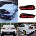 PROTON INSPIRA 2010 - 2018 Smoke Lens LED Light Bar Tail Lamp with Sequential Signal Light (AUDI Style)