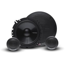 "ORIGINAL ROCKFORD FOSGATE PRIME USA R165-S 80W 6.5"" 2-WAY COMPONENT SPEAKER SYSTEM SET"