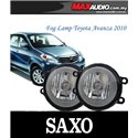 TOYOTA AVANZA 2010 - 2012 SAXO Fog Lamp Spot Light Made in Korea [TY233]