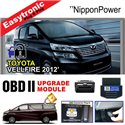 TOYOTA ALPHARD / VELLFIRE ANH20 2008 - 2014 OBD2 Plug and Play Module (D Gear Auto Lock, Double Signal, Window Auto Up and Down)