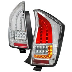 TOYOTA PRIUS XW30 2009 - 2014 Clear Lens LED Light Bar Tail Lamp