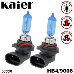 KAIER Max Power Series 5000K White Warm Yellowish Schott Glass Halogen Bulb Lamp Light Korea Techonology (Pair)