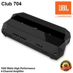 JBL Club 704 1000 Watts High Performance 4-Channel Car Audio Amplifier