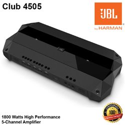 JBL Club 4505 1800 Watts High Performance 5-Channel Car Audio Amplifier