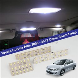 TOYOTA COROLLA ALTIS E140/E150 2006 - 2012 Super Bright OEM Fit LED Cockpit Cabin Dome Room Lamp Light