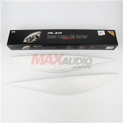 PERODUA ALZA Head Lamp Light Sporty Eye Lid Cover with Paint (Ivony White)