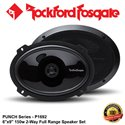 "ORIGINAL ROCKFORD FOSGATE USA PUNCH SERIES P1692 150W 6"" x 9"" 2-WAY FULL RANGE SPEAKER SYSTEM SET"