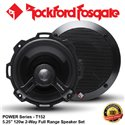 "ORIGINAL ROCKFORD FOSGATE USA POWER SERIES T152 120W 5.25"" 2-WAY FULL RANGE COAXIAL SPEAKER SYSTEM SET"