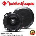 "ORIGINAL ROCKFORD FOSGATE USA POWER SERIES T16 140W 6"" 2-WAY FULL RANGE COAXIAL SPEAKER SYSTEM SET"
