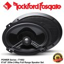 "ORIGINAL ROCKFORD FOSGATE USA POWER SERIES T1692 200W 6""x9"" 2-WAY FULL RANGE COAXIAL SPEAKER SYSTEM SET"