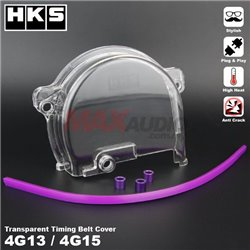 PROTON WIRA, SATRIA, SAGA, ISWARA 1.3/1.5 4G13 4G15 HKS Anti Crack High Heat Plug And Play Transparent Timing Belt Cover