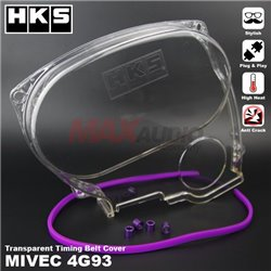 MITSUBISHI MIVEC GSR 4G93, PROTON SATRIA GTI 1.8 HKS Anti Crack High Heat Plug And Play Transparent Timing Belt Cover