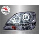 TOYOTA HARRIER XU10 LEXUS RX300 1997 - 2003 EAGLE EYES Chrome Housing CCFL LED Light Ring Projector Head Lamp [HL-102]