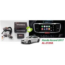 HONDA ACCORD Facelift 2016 - 2018 AUDIOLAB Plug and Play Park Brake Bypass Cable TV Free Socket Cable with Canbus [AL-272HA]