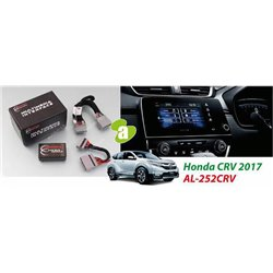 HONDA CRV CR-V 2017 - 2018 AUDIOLAB Plug and Play Park Brake Bypass Cable TV Free Socket Cable with Canbus [AL-252CRV]
