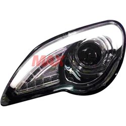 PROTON GEN2/ PERSONA Audi Style LED Daytime Running Light Plank Projector Head Lamp