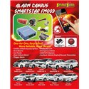 HONDA CITY/ TOYOTA VELLFIRE/ ALPHARD/ ESTIMA/ CAMRY/ HARRIER & PRIUS Plug & Play Add On Alarm System